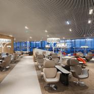 Plafond décoratif lames aluminium professionnel