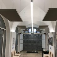 Mairie Alkirch, panneaux acoustiques isolation