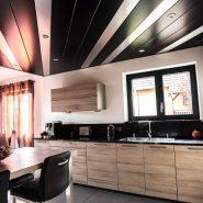Plafond décoratif lames Haut-Rhin