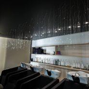 Plafond décoratif salon de coiffure