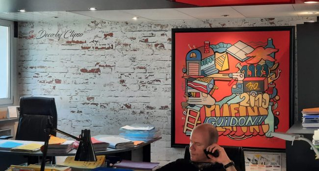 Plafond Guidon, Showroom