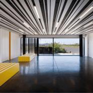 Plafond pro lames aluminium